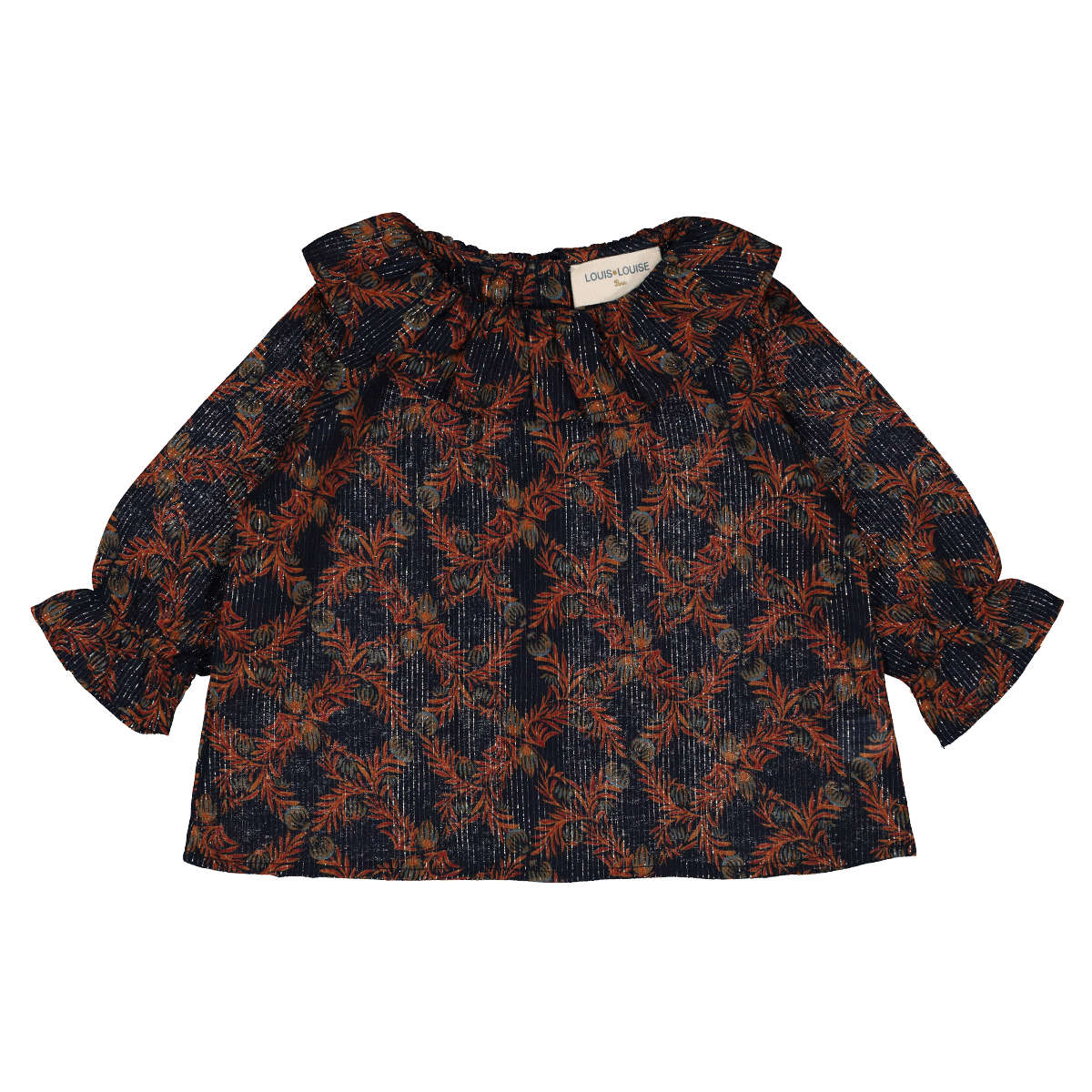 Louis Louise Lilie Tunic in Exotic Flower Print
