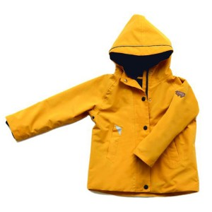 Toastie Fisherman Raincoat in Yellow