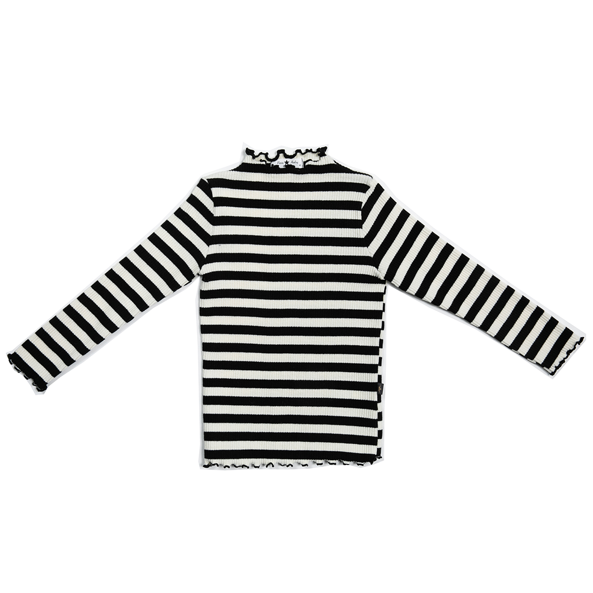Petite Hailey Ava Long Sleeve Shirt in Stripe