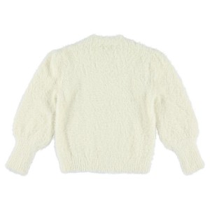 Morley Feather Kind Cotton Sweater in Cream