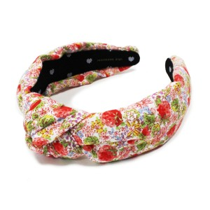 Lele Sadoughi Women's Exclusive Strawberry Print Headband