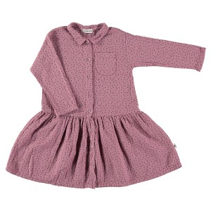 My Little Cozmo Emilie Dress in Vintage Pink
