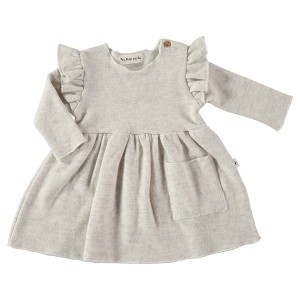 My Little Cozmo Limerick Dress in Light Grey
