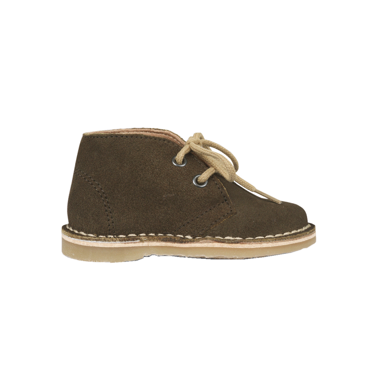 Petit Nord Desert Lace Boot In Moss