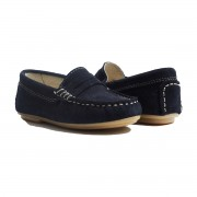 ChildrenChicAW19ClassicMoccasinNavy