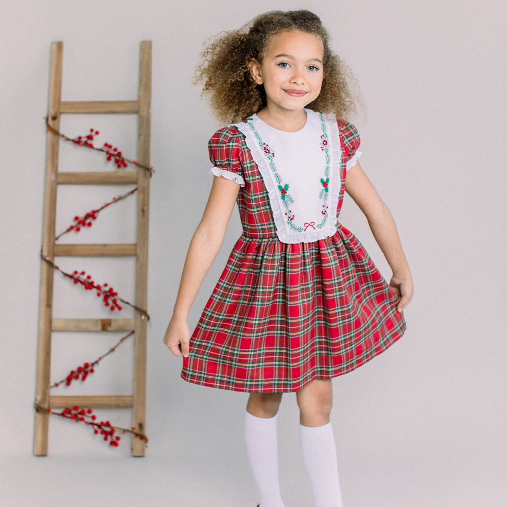 Dondolo Frances Dress in Plaid