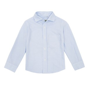 Nupkeet Boy's Crisafo Shirt in Light Blue