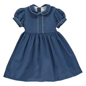Amaia Eleonore Blue Dress