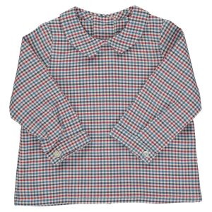 Amaia mallard red check shirt