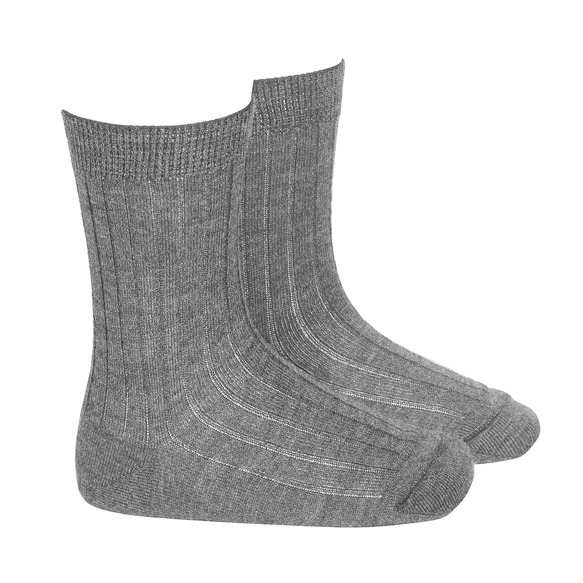 Condor Merino Wool Rib Socks in Grey