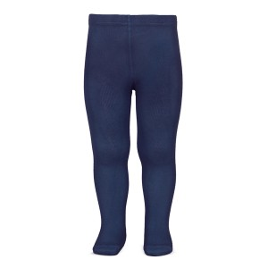 Condor Basic Plain Tights in Navy