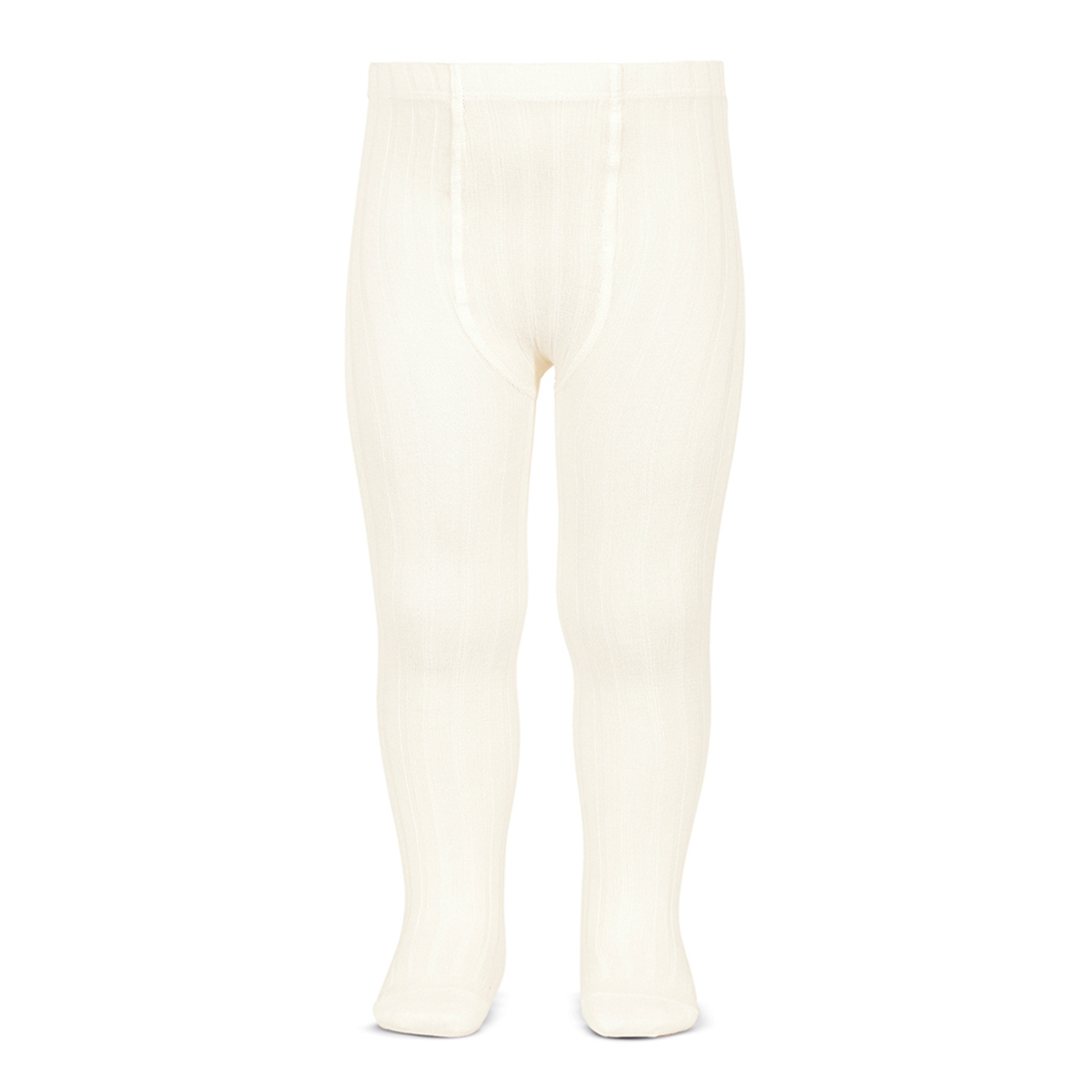 Condor Basic Rib Tights in Cava Ivory