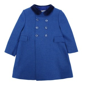 Friki Boy English Coat in Royal Blue