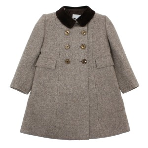 Friki Girl English Coat in Brown