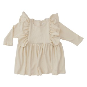 Library Littles Friday Dress in Ivory