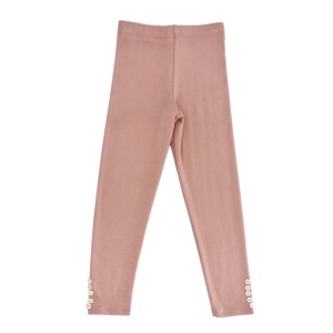 Library Littles Kismet Legging in Mellow Rose