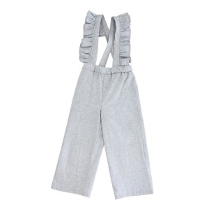 Library Littles Karma Overalls in Blue Chambray