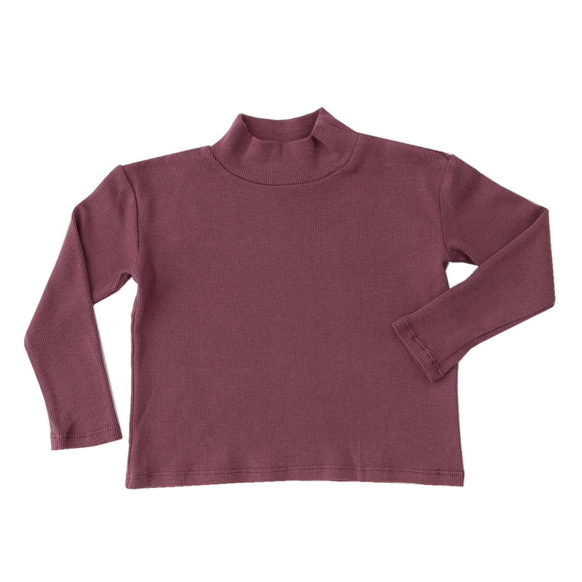 Library Littles Monday Mock Neck Top
