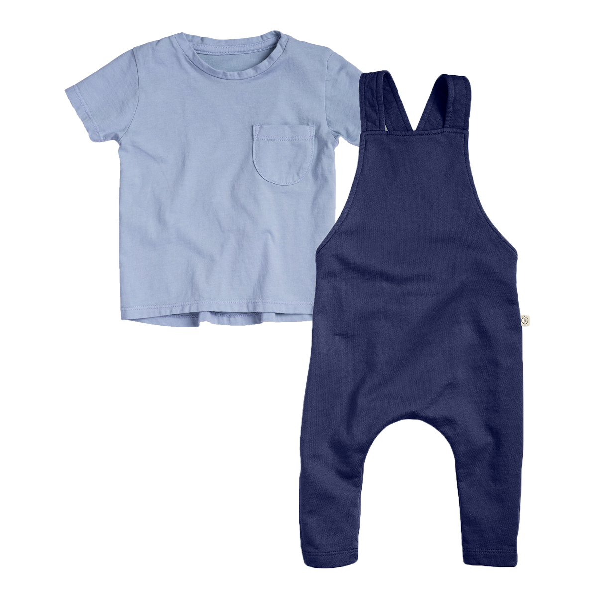 24M Infant Unisex Shoulder Snap Tee Short Sleeves Cotton Blanks Sizes 6M