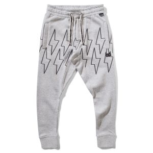 Munster Kids Buzzer Sweatpant in Grey Marble