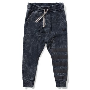 Munster Kids Pockets Rugby Pant in Acid Black