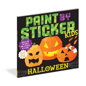 Workman Publishing Paint By Sticker Book in Halloween
