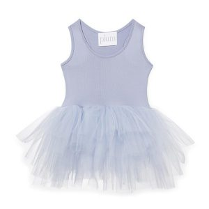 ILovePlum Sleeveless Tutu Dress in Betty Purple