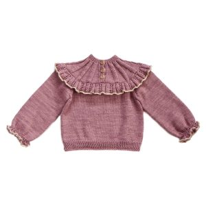 Kalinka Dove Sweater in Lilac