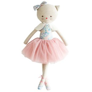 Alimrose Adeleine Kitty Doll in Liberty Rose