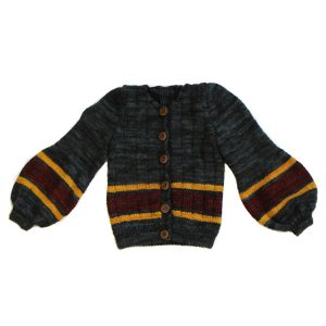 Kalinka Ophelia Cardigan in Coal