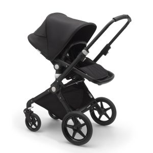 Bugaboo Lynx Stroller In Black Frame with Black Fabric