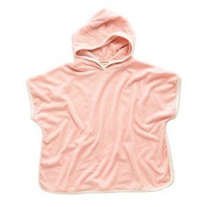 Zulu and Zephyr Mini Towel Pullover in Blush