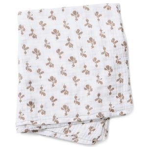 Lewis Home Mini Radish Birch Burp Cloth Set