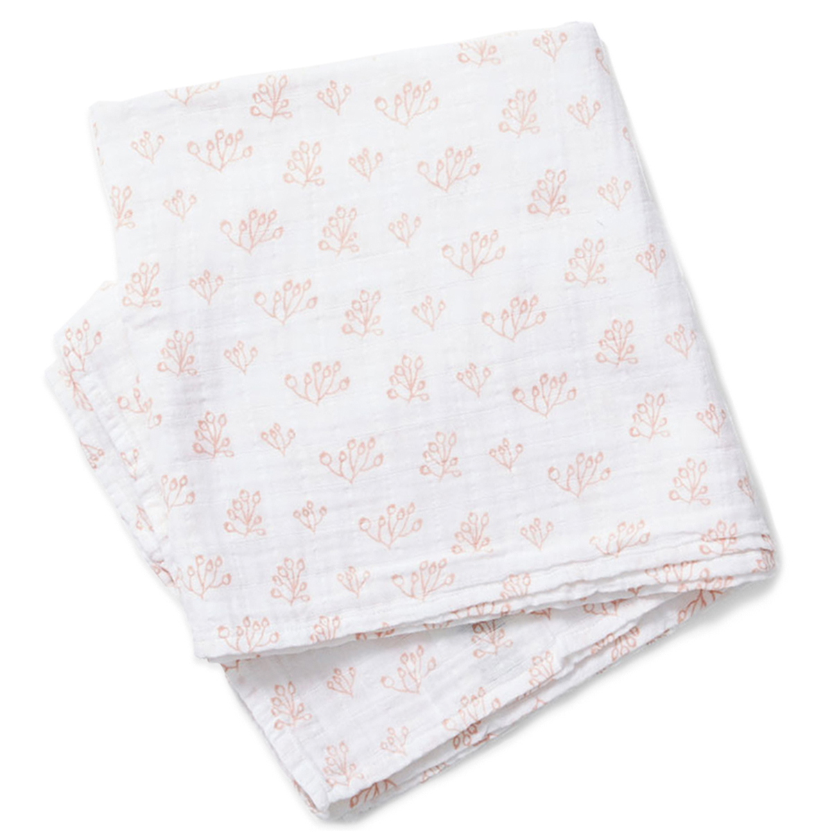 Lewis Home Rosehip Blush Swaddle