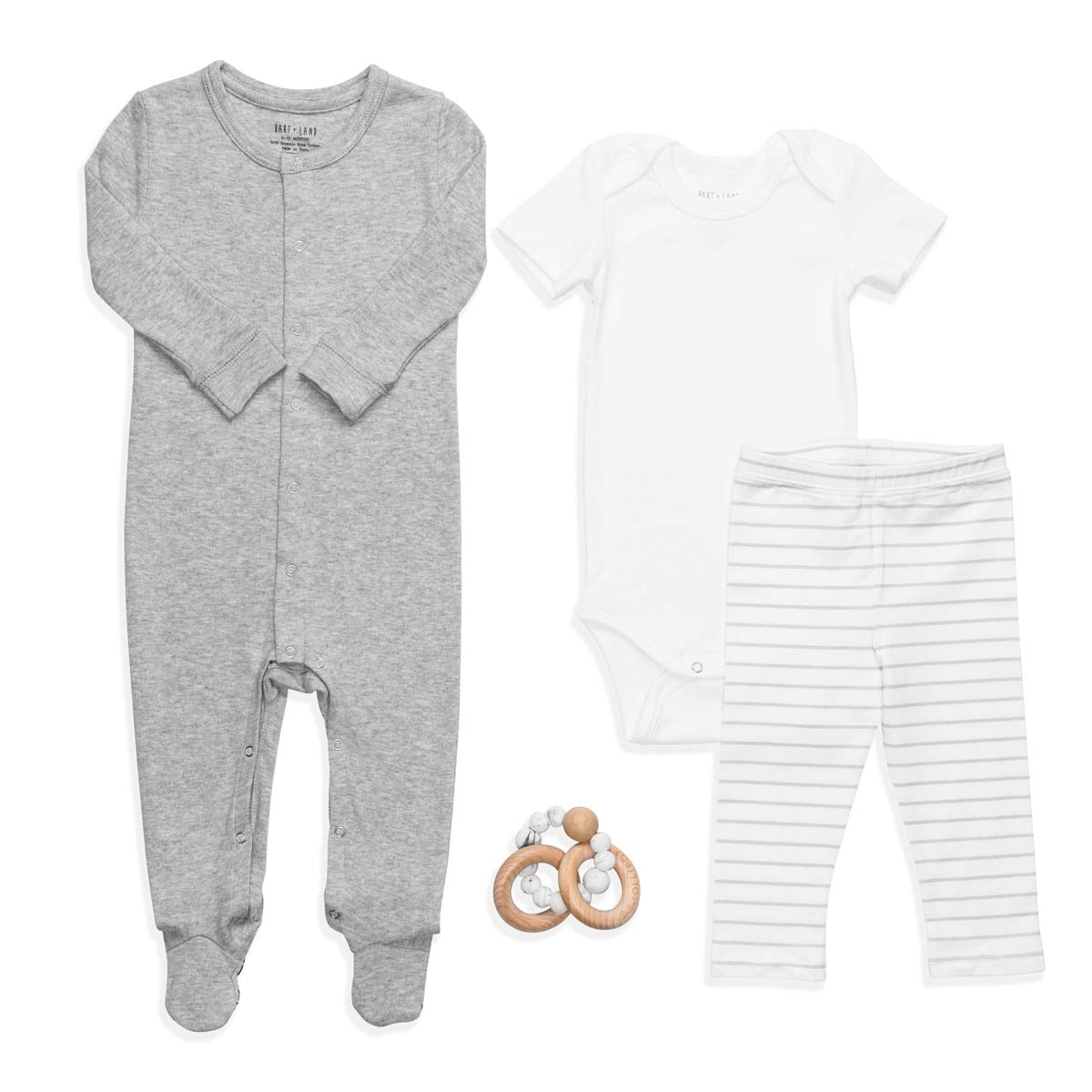 Hart + Land $100 Gift Set in Micro Chip Grey