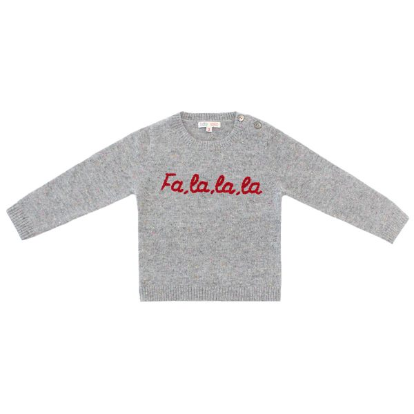 Baby&TaylorSweaterGreyRed