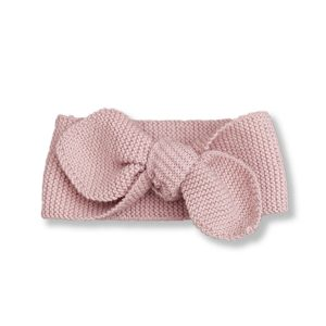 Shirley Bredal Knotted Headband in Dusty Pink
