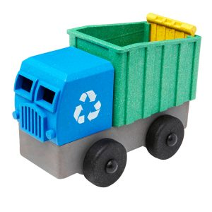 Luke's Toys Recycling Truck Eco Truck