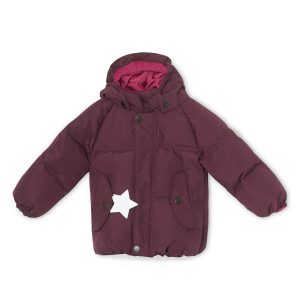 Mini A Ture Woody Jacket in Wine Plum