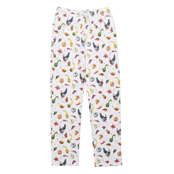 HART + LAND Gourds, Leaves & Turkeys Pajamas