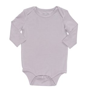 Hart + LAND Bamboo solid lap shoulder bodysuit