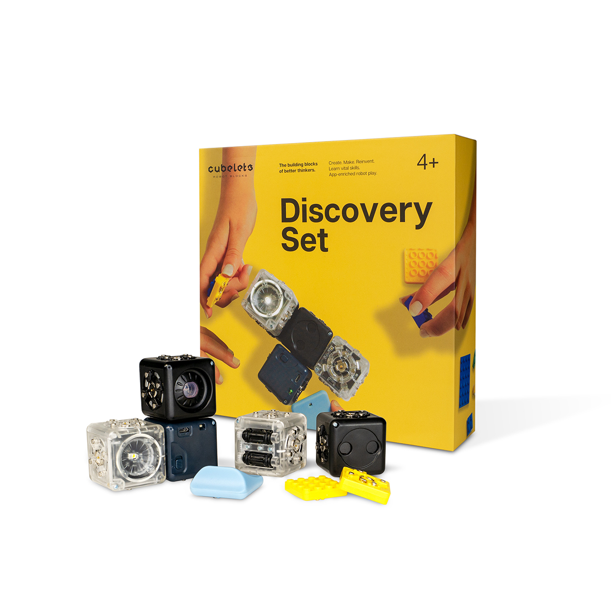 Modular Robotics Discovery Set with Box
