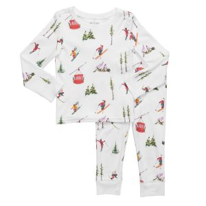 HART + LAND Skier Pajama Set for Toddlers