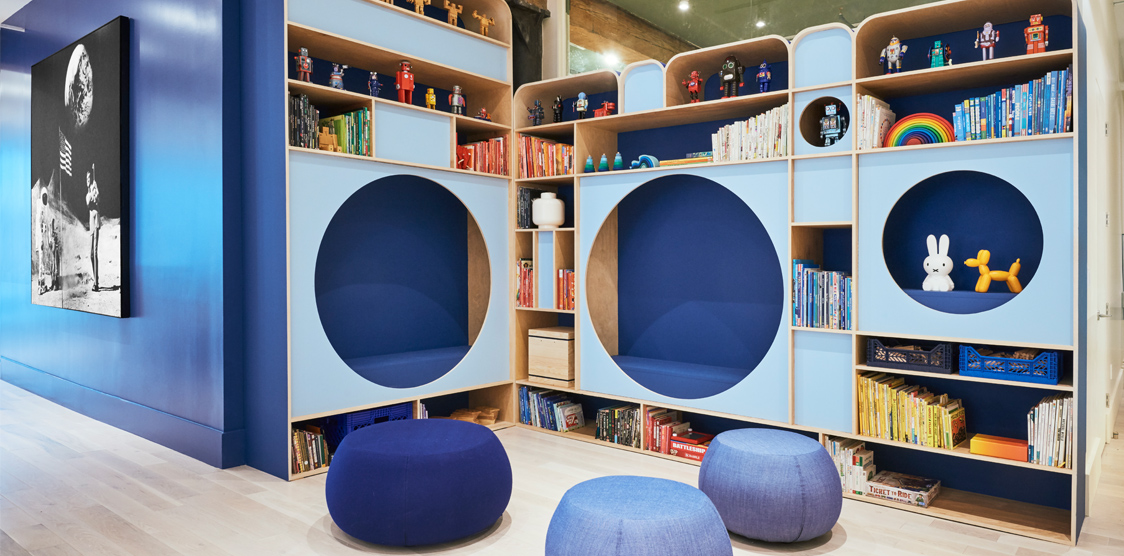 fun and creative kids play space