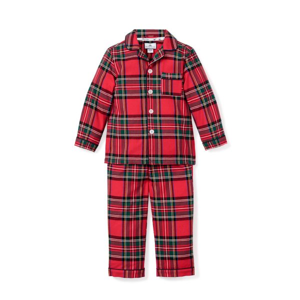 Petite Plume Baby/Toddler/Big Kid Imperial Tartan Pajama Set