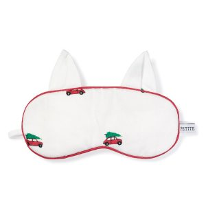 Petite Plume Holiday Journey Kitty Eye Mask