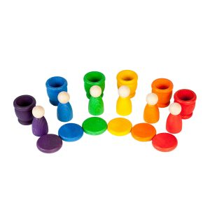 Grapat Nins Cups and Coins Stack and Sort Game