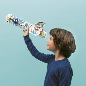 OMY Air Toy Rocket with little boy