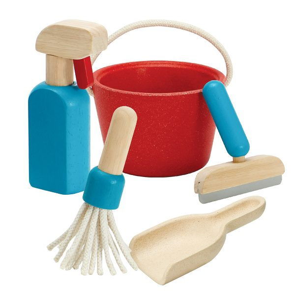 PlanToys Cleaning Set