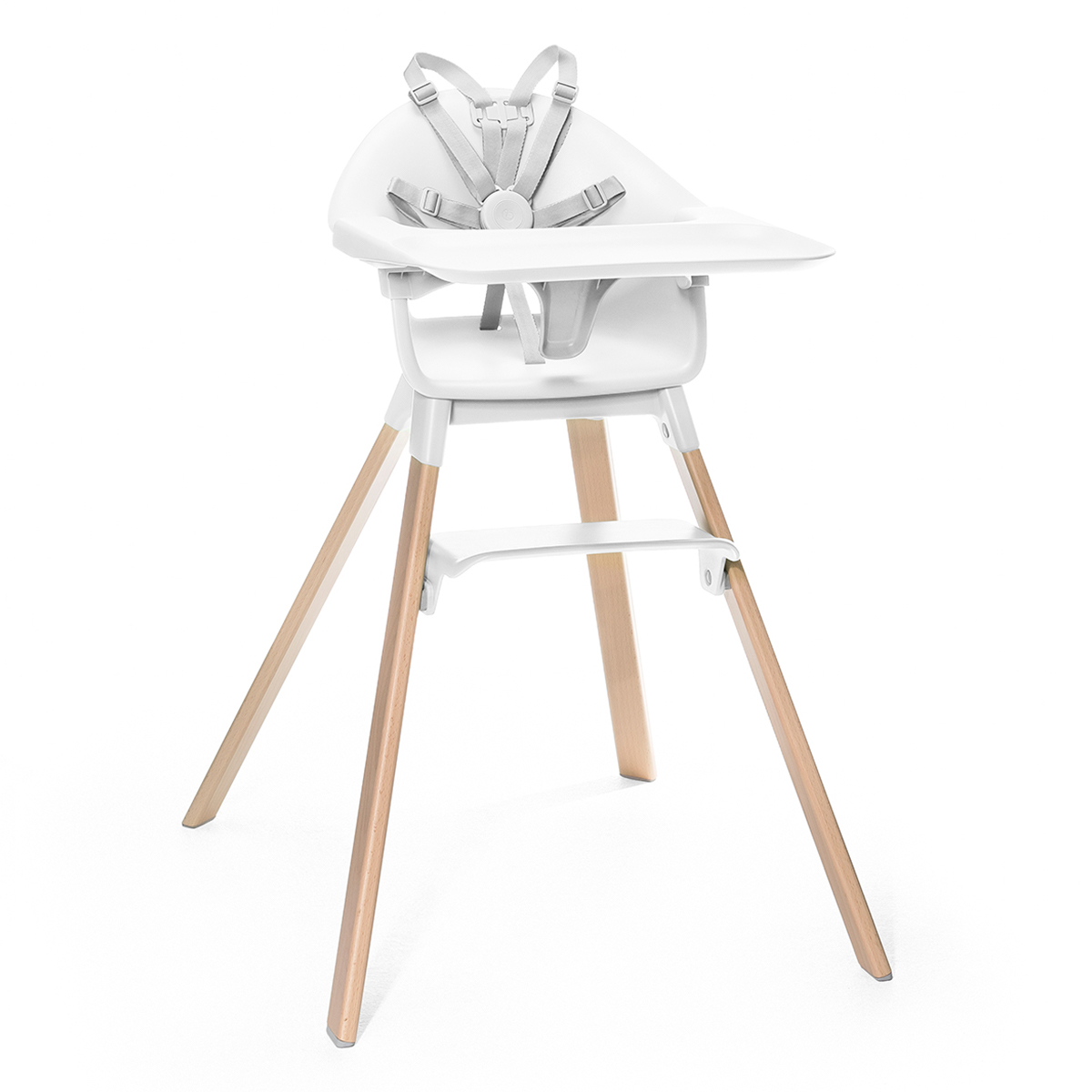 Stokke Clikk Highchair White1